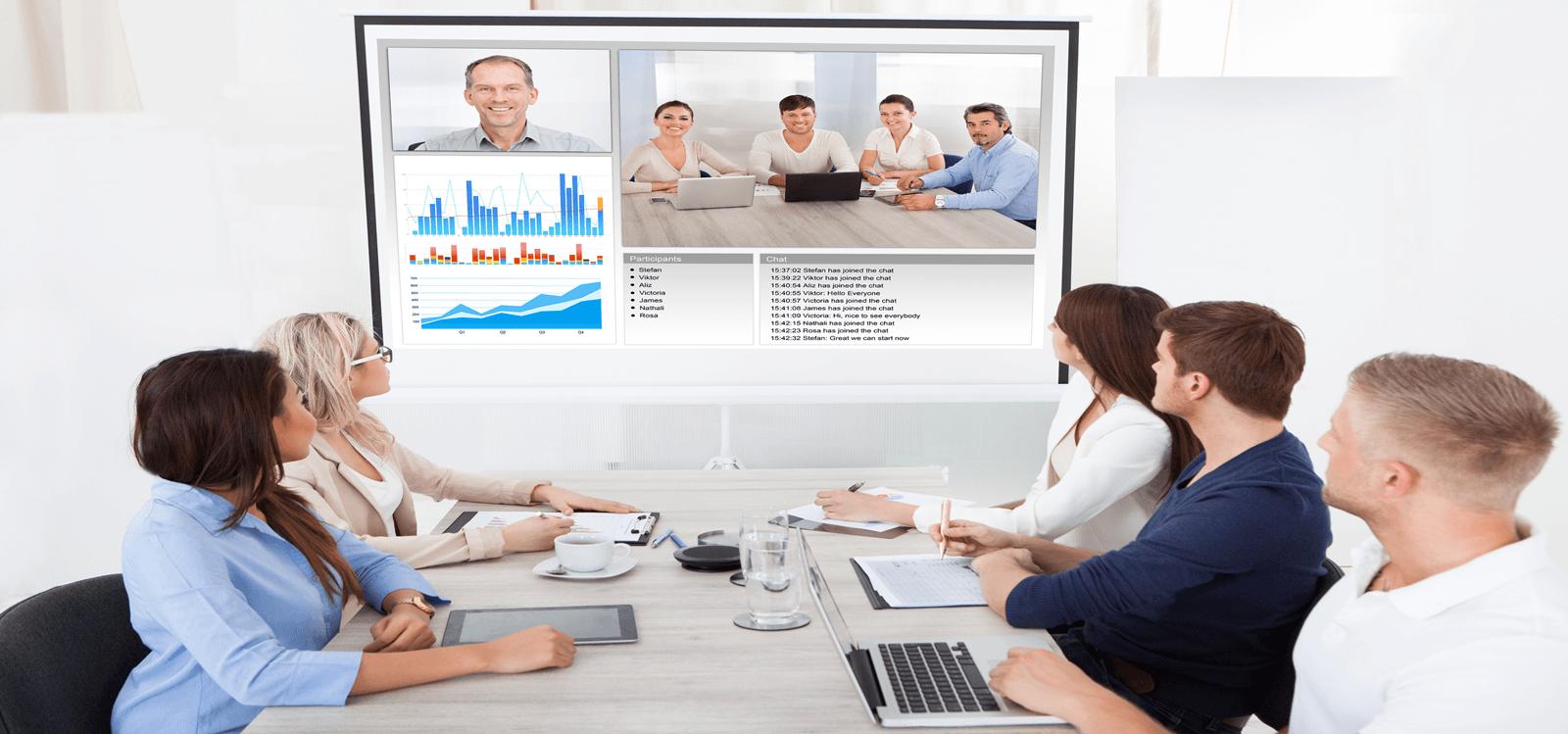 Tecnología para videoconferencias y reuniones online
